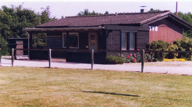 Das erste Vereinsheim am Lübbesmeyerweg